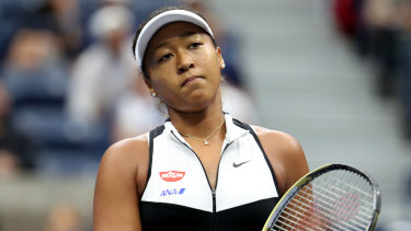 Tennis player Naomi Osaka.