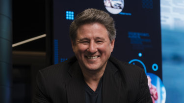 Stan chief executive Mike Sneesby has played a key role in the Australian streaming environment.