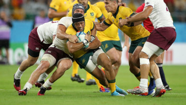 Chrisitan Lealiifano played at the 2019 Rugby World Cup just three years after his career appeared due to being diagnosed with leukaemia.