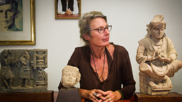 Romy Dingle looks at the Buddha who has been part of her life, together with the two other ancient objects from Pakistan which she returned.