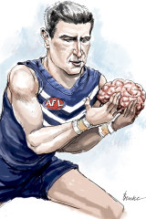 AFL great and Dockers legend Matthew Pavlich is hoping research on his brain can help unlock the secrets of concussion's long-term impact.