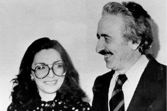 Mr Ariyak with his wife Demet.