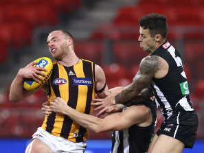 Hawthorn will now host Collingwood at the MCG.