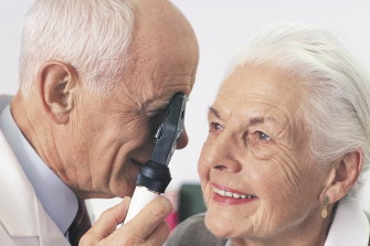 Getting regular eye check-ups  is one of the authors' recommendations.