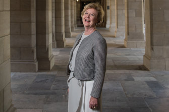 Gillian Triggs at the University of Melbourne in 2019. She is now Assistant High Commissioner for Protection with the UN High Commissioner for Refugees.