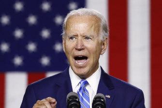 Presumptive Democratic presidential nominee Joe Biden.