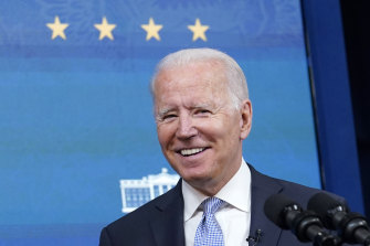 Biden represents continuity with Trump without aping entirely his predecessor's confrontational stance.