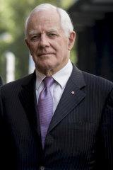 Former judge David Harper.