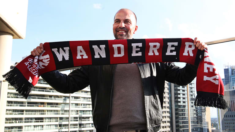 Red alert: Former German international and Liverpool player Marcus Babbel takes over at Western Sydney Wanderers.