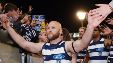 Masterful: Gary Ablett's form in Geelong's finals campaign is yet to match the level he played at in the home-and-away season.