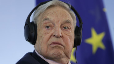Billionaire philanthropist George Soros has again made a splash at Davos.