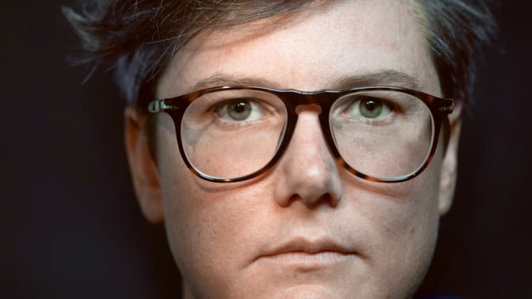 """Writing the show, I think I was insane. I was a hot mess"" – Hannah Gadsby."