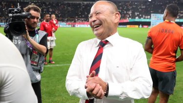 "England's coach Eddie Jones said he was ""pleased with the attitude of the players""."