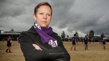 Ticking all the boxes: Rugby League Victoria chairwoman Dr Amanda Green is a change agent.