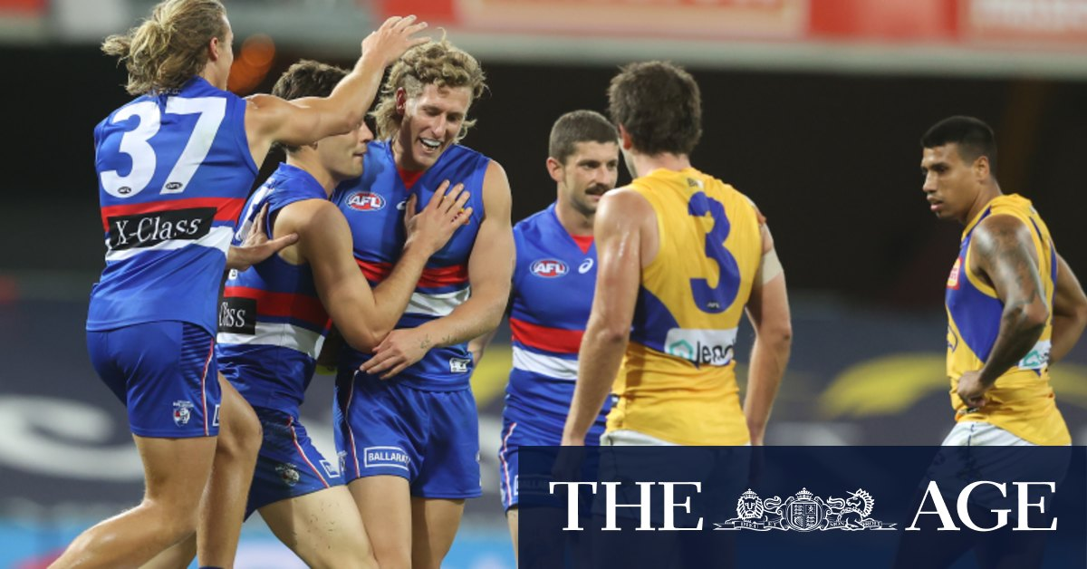 Bulldogs remain in finals fight after downing Eagles in a thriller – The Age