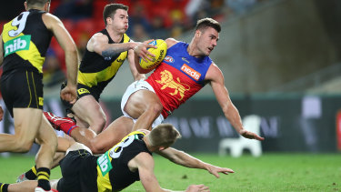 THe Tigers and Lions clashed on a Tuesday night and drew 224,000 viewers on Foxtel, where it was exclusively broadcast.