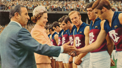 50 years on: The Queen at the VFL, the day Sunday footy was born