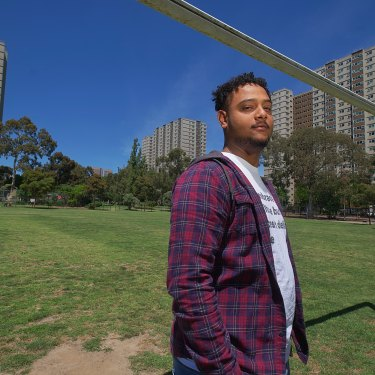 Semir Imam was training to be a youth worker last year. Then the pandemic hit.