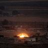 Syrian army, Turkish forces clash near border: state media