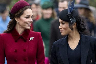 Kate Middleton, Meghan Markle.