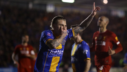 Liverpool forced into FA Cup replay by League One minnows Shrewsbury