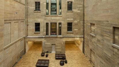 Museum's subterranean space reclaimed in strategic reimagining