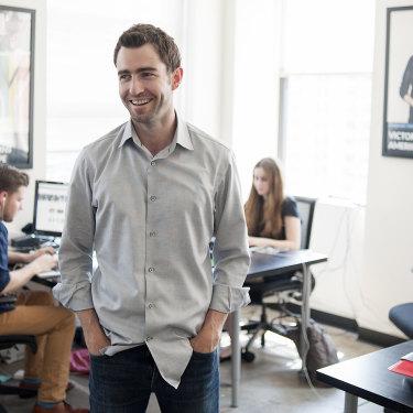 Ben Rattray, founder of Change.org, at the company's offices in New York in 2013.