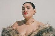 Nakkia Lui on the cover of Harper's Bazaar Australia