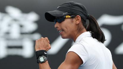 Australian Sharma storms into first WTA final