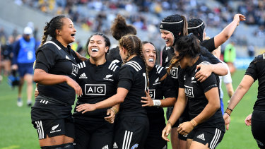 The Black Ferns proved far too strong yet again in Perth.