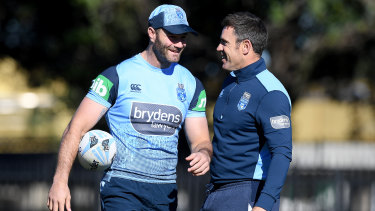 Blues captain Boyd Cordner will do Brad Fittler's bidding on the field in Brisbane.