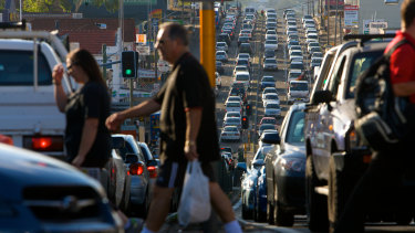 Traffic on Transurban's Sydney roads are back to 91 per cent of normal levels.