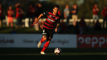 Socceroos and Wanderers right back Josh Risdon could be heading overseas.