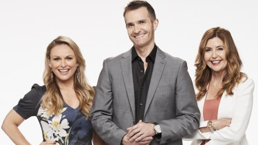 Married at First Sight's experts Mel, John and Trisha.