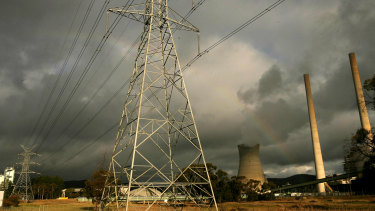 Delta Electricty Power Station at Wallerawang near Lithgow.