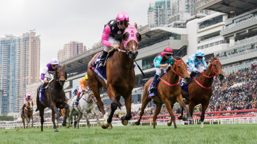 Sunday's meeting at Sha Tin is not expected to be troubled by protesters.