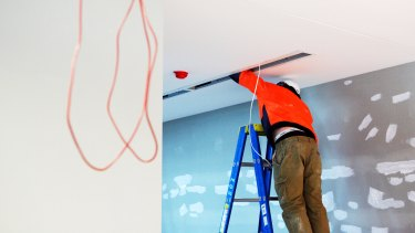 Electricians have warned DIY home projects during the shutdown pose risks.
