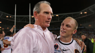 Wayne Bennett and Darren Lockyer combined to win the competition in 2006.