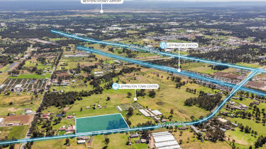 The site at 113 Rickard Road, Leppington is being marketed for sale