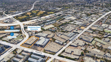 The former Bunnings warehouse will be converted to logistics use.