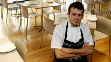 Milan Strbac of SugarCane restaurant in Coogee is operating three sittings each evening.