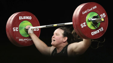 New Zealand's Laurel Hubbard will compete at the Tokyo Olympics.