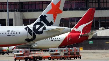 Qantas is slashing its flights domestically and internationally.