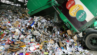 China's ban on the importation of lower-grade waste has hit Australia hard.