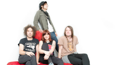 Portland band The Dandy Warhols have a new album out.