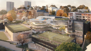 Redevelopment plans for Loreto Kirribilli, which is getting a $371,000 top-up payment from the federal government.