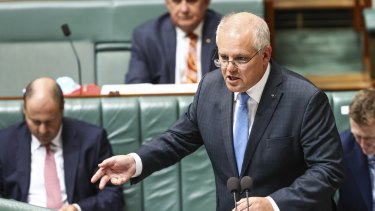 Prime Minister Scott Morrison.