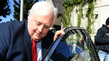 Lawyers for Clive Palmer's companies moved to shut down the Brisbane Supreme Court trial earlier in the week, saying it had largely devolved into a fee-chasing exercise.