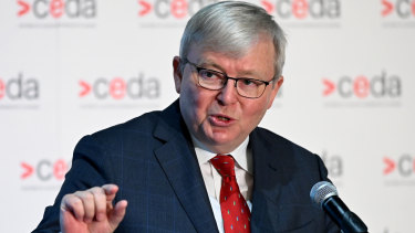 Former prime minister Kevin Rudd has rebuked criticism of the Closing the Gap Strategy.