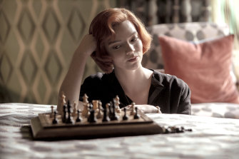 Anya Taylor-Joy plays orphaned chess prodigy Beth Harmon in Netflix drama <em>The Queen's Gambit</em>.